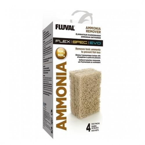 Almohadilla Flex Amoniaco 4Pc para peces