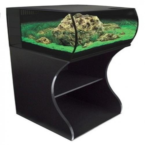 Mesa para acuario FLEX 57 l para peces color Negro