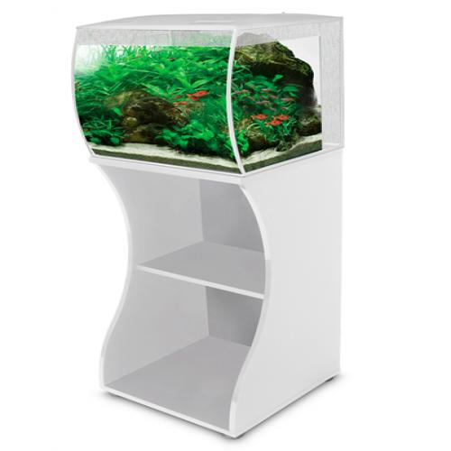 Mesa para acuario Flex 57 l para peces color Blanco