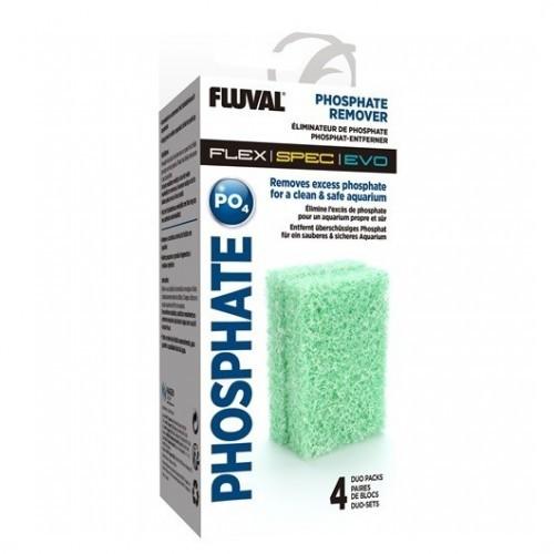 Almohadilla Flex Fosfato 4Pc para peces
