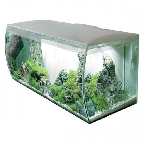 Acuario Flex 123 l para peces color Blanco