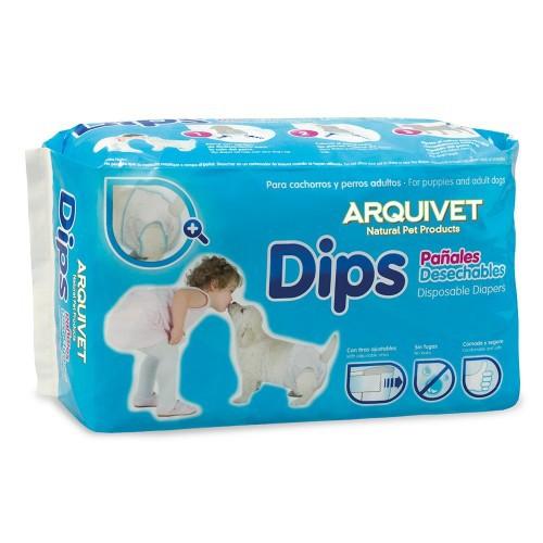 Pañales Dips para cachorros