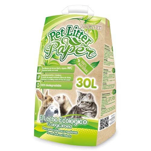 Lecho Pet Litter Paper grande olor Neutro