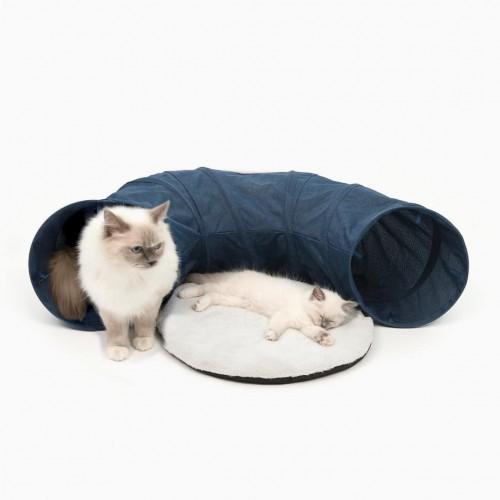 Túnel con cama azul Catit Vesper color Azul