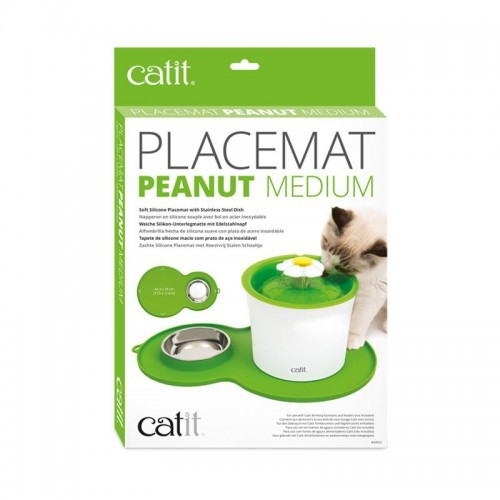 Alfombra verde Placemat doble de silicona