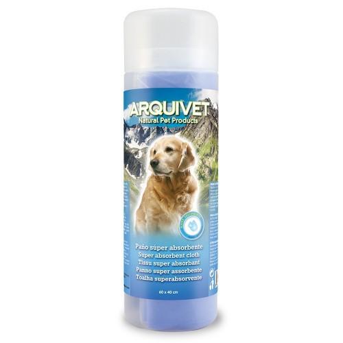 Toalla súper absorbente para perros