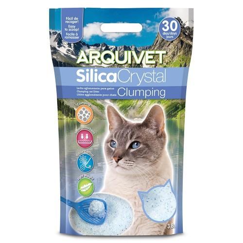 Lecho Silica Crystal Clumping para gatos olor Neutro