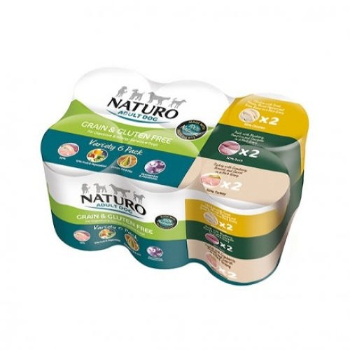 Naturo Grain Free Multipack latas para perros
