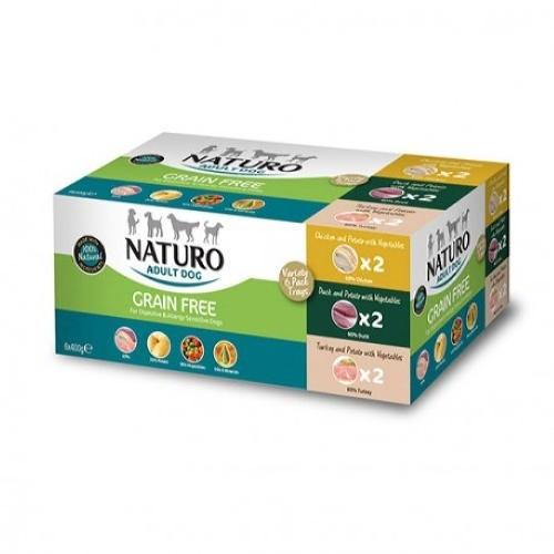 Naturo Grain Free Multipack tarrinas para perros