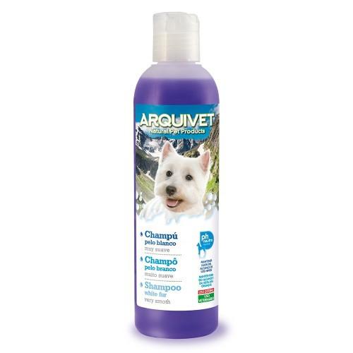 Champú para perros de pelo blanco olor Neutro