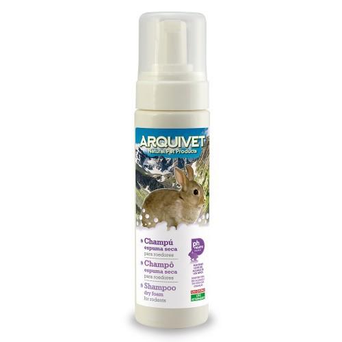 Champú de espuma seca para roedores olor Neutro