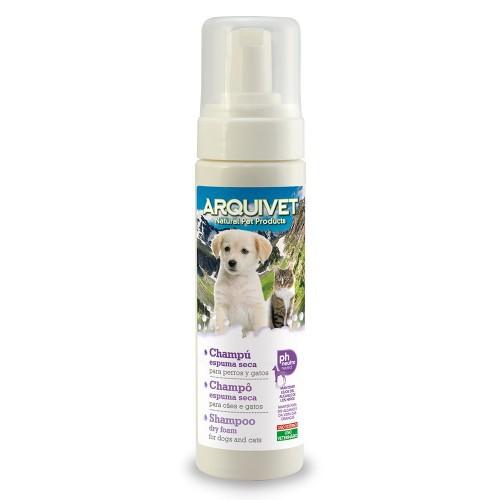 Champú de espuma seca para perros olor Neutro