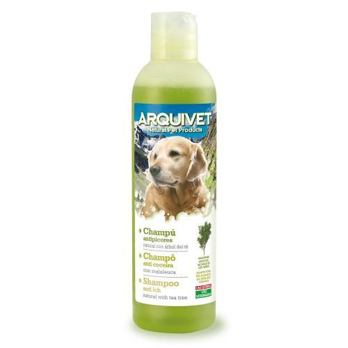 Champú natural antipicores para perros olor Neutro
