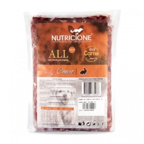 Pack carne congelada All Meat sabor Conejo