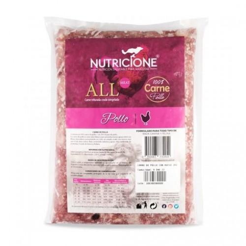 Pack carne congelada All Meat sabor Pollo