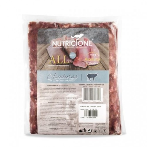 Pack carne congelada All Meat sabor Cordero