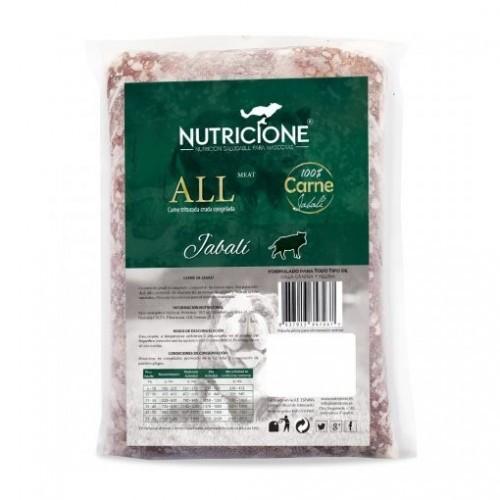 Pack carne congelada All Meat sabor Jabalí