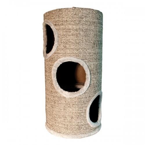 Rascador para gatos Arquivet con agujeros