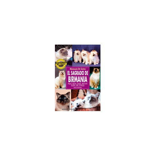 Manuales de gatos. El Sagrado de Birmania