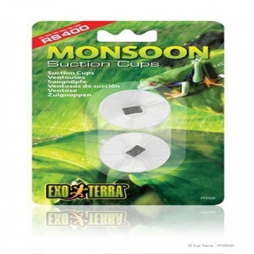 Pack de 2 filtros de ventosas Exo-Terra Monsoon