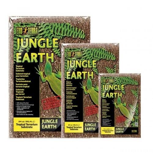 Substrato Exo-Terra Jungke Earth olor Neutro