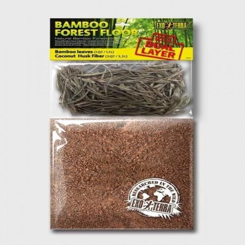 Substrato Exo-Terra Bamboo Forest Floor pequeño olor Neutro