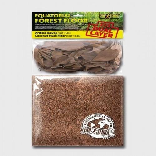 Substrato Exo-Terra Equatorial Forest Floor pequeño olor Neutro