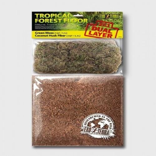 Substrato Exo-Terra Tropical Forest Floor olor Neutro