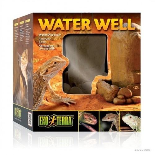 Bebedero Exo-Terra Water Well color Marrón
