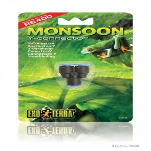 Conexión Y Monsoon Exo-Terra
