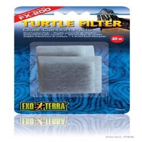 Almohadillas recambio de carbón FX200 Exo-Terra