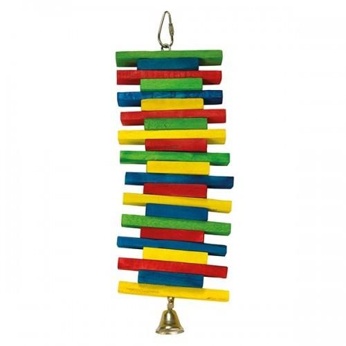 Maderas multicolor con campana color Multicolor