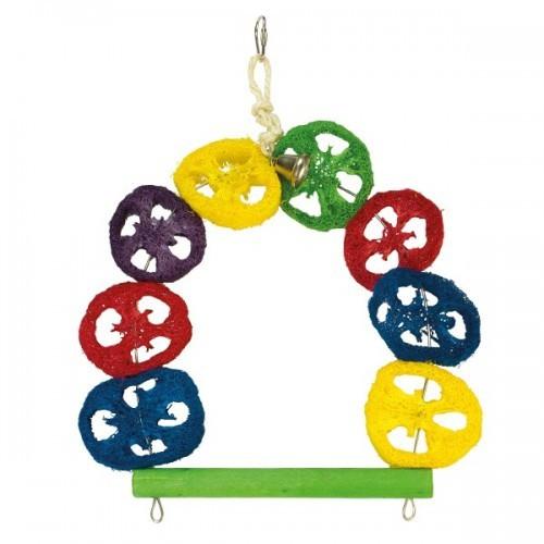 Columpio multicolor con campana color Multicolor
