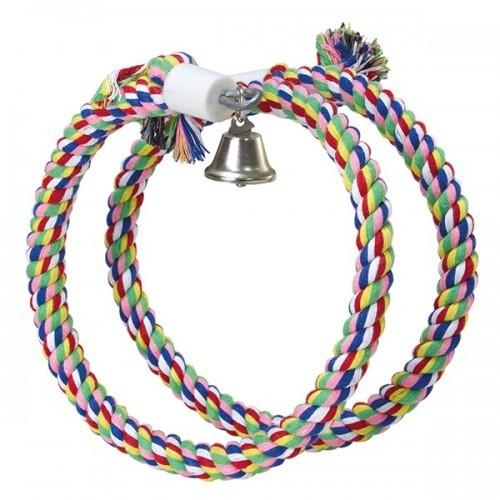 Aros de colores extensibles y campana color Multicolor