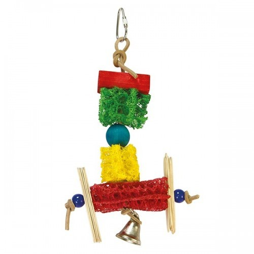 Juguete con colores y campana color Multicolor