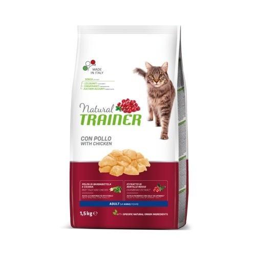Natural Trainer Adult Pollo para gatos