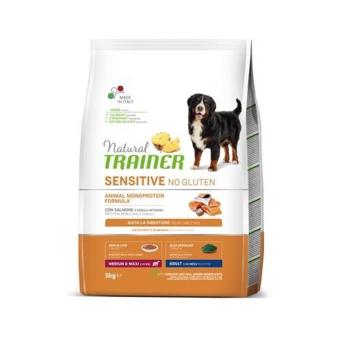 Natural Trainer Sensitive No Gluten Medium&Maxi Salmón