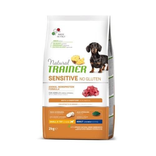 Natural Trainer Sensitive No Gluten Mini Cordero