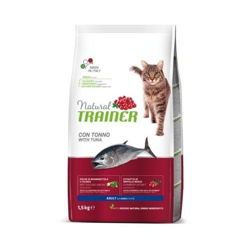 Natural Trainer Adult Atún para gatos