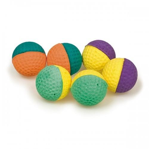 Pack de 100 pelotas de espuma para gatos color Variado