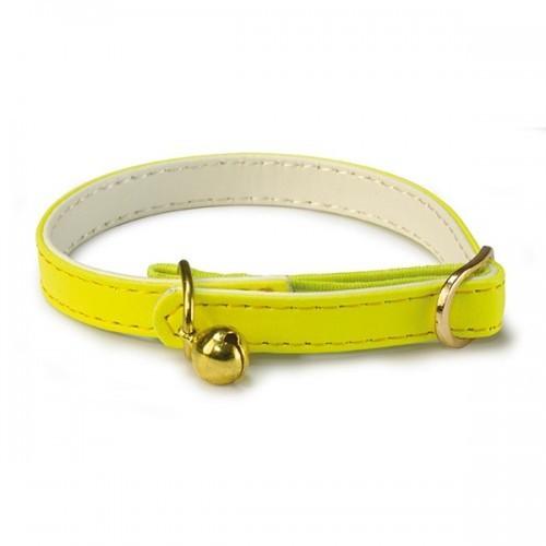 Collar reflectante para gatos color Amarillo