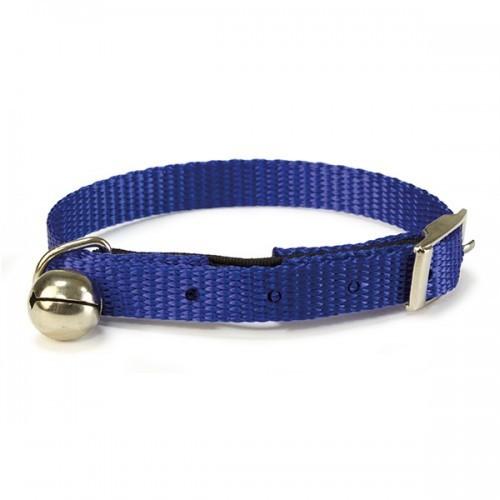 Collar nylon para gatos color Azul