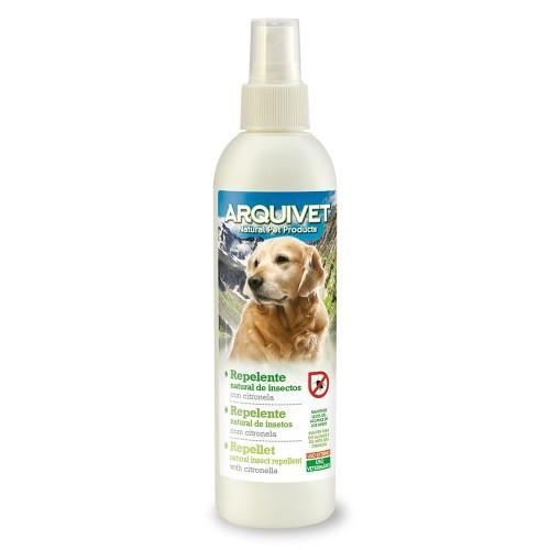 Repelente natural de insectos con citronela para perros