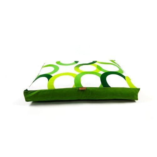 Colchón Aros para perros color Verde