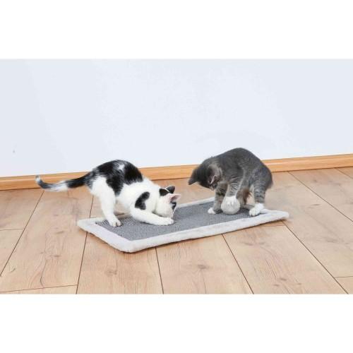 Alfombrilla rascador para gatos color Gris