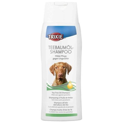 Champú para perros aceite de árbol de té antiparásitos