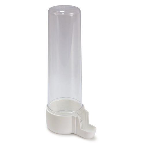 Bebedero en forma de tubo para aves