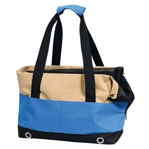 Bolso transportín color Azul