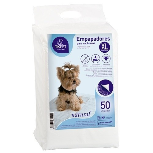 Empapadores para cachorros XL TK-Pet natural