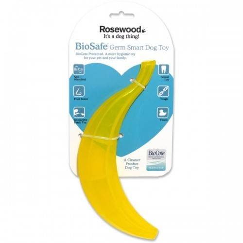 Mordedor para perros Rosewood Biosafe banana